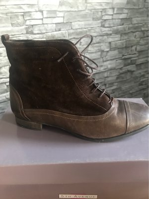 5th Avenue Ankle Boots dark brown