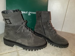 Paul Green Lace-up Boots anthracite