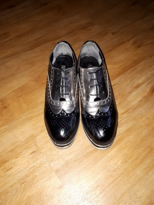 Wingtip Shoes black-grey