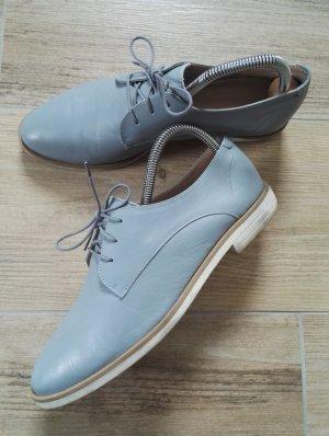 Chaussures basses bleu azur