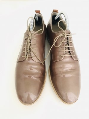 Attilio giusti leombruni Chaussures à lacets beige cuir