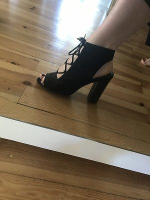 Asos Escarpins à lacets noir