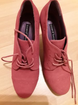 Görtz Shoes Décolleté stringata rosa Scamosciato