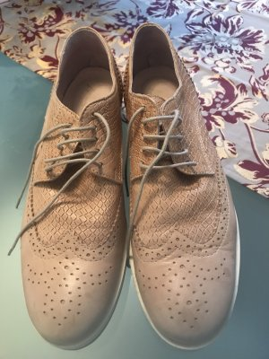 Lace Shoes beige
