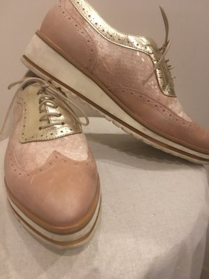 Heine Lace Shoes multicolored leather