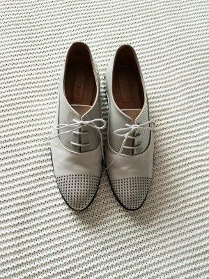 Topshop Zapatos brogue gris claro