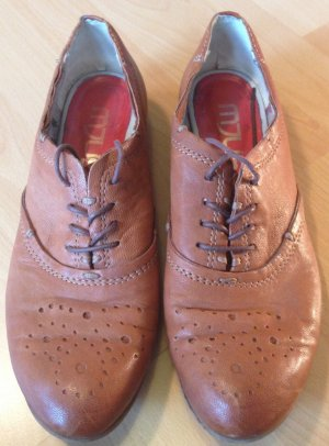 Mjus Scarpa business arancione scuro