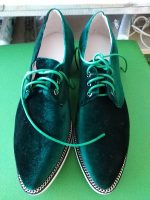 Wingtip Shoes forest green