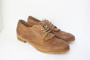 Oxfords multicolored leather