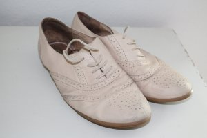 Buffalo Mary Janes cream leather