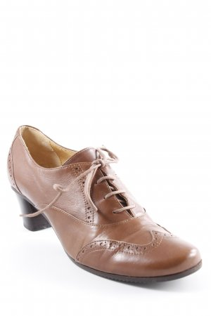 Lace Shoes brown simple style