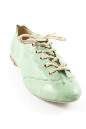 Lace Shoes grass green extravagant style