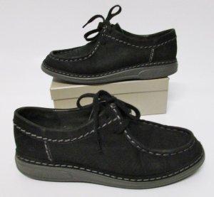 Schnürschuhe Lofters Remonte Schuh Manufaktur Größe 37 Leder Schuhe Schwarz bequem