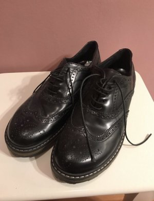 Bikkembergs Lace Shoes black leather