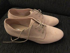 5th Avenue Richelieu-schoenen rosé-stoffig roze