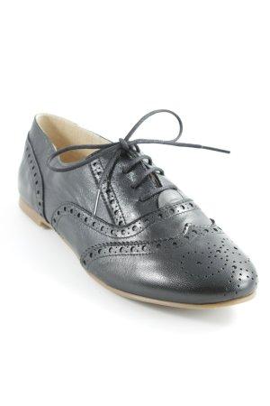 Chaussures à lacets noir style d'affaires