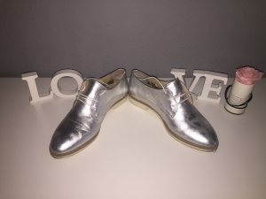 Cox Lace Shoes silver-colored