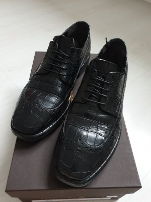 Scarpa business nero Pelle