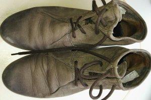 Paul Green Patucos con cordones marrón grisáceo