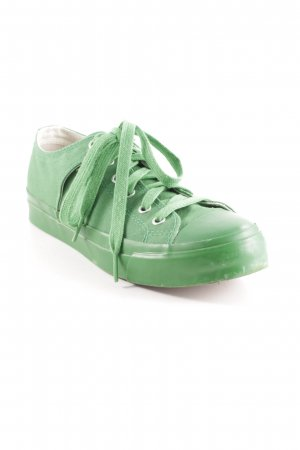 Schnürsneaker grün Casual-Look
