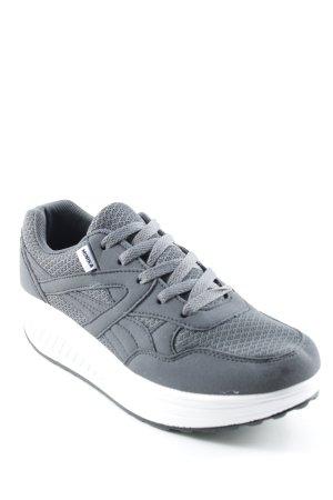 Sneakers met veters veelkleurig atletische stijl
