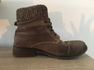 Lace-up Boots grey brown