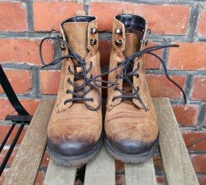 Schnürstiefel / Boots / Leder