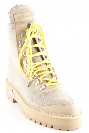 Lace-up Boots camel casual look