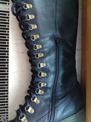 Seven seconds Lace-up Boots black imitation leather