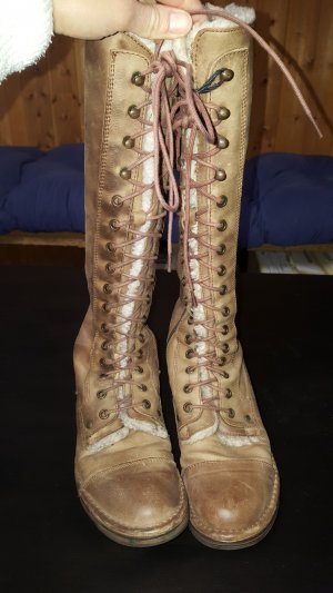 Bama Lace-up Boots light brown