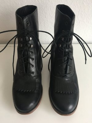 Wolverine Lace-up Boots black