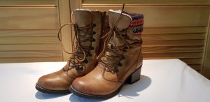 Rieker Lace-up Booties sand brown-light brown