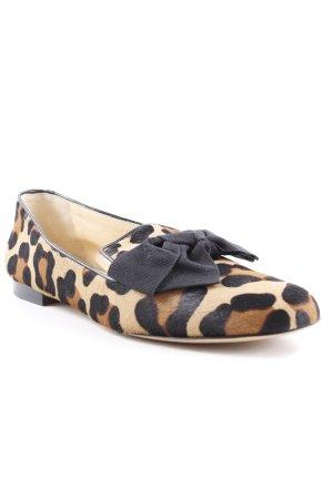 Scho Shoes Milano Schlüpfschuhe Leomuster Animal-Look