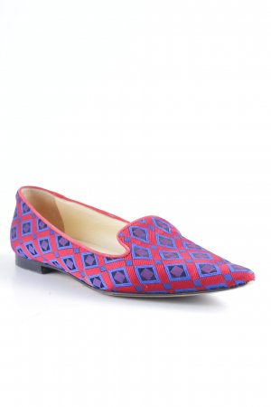 Scho Shoes Milano Spitz-Pumps abstraktes Muster extravaganter Stil