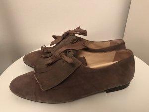 Scho Shoes Wildleder Schnürer Gr.39 Taupe