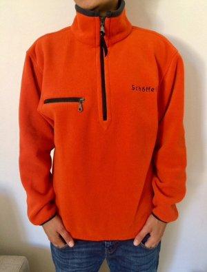 Schöffel Jersey de lana naranja