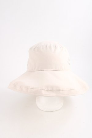 Schöffel Bucket Hat natural white embroidered lettering casual look