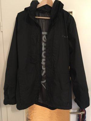 Schöffel Jacke Outdoor / schwarz / 48