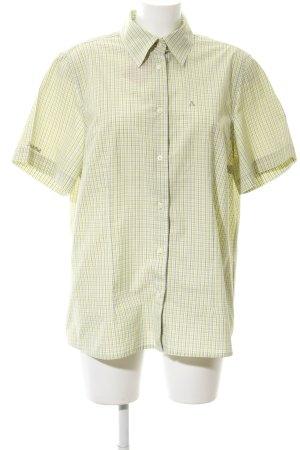 Schöffel Camicia a maniche corte motivo a quadri stile casual