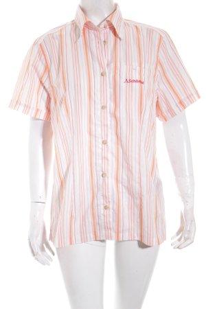 Schöffel Kurzarmhemd Streifenmuster Casual-Look
