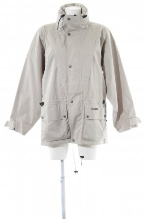 Schöffel Outdoorjacke hellbeige Casual-Look