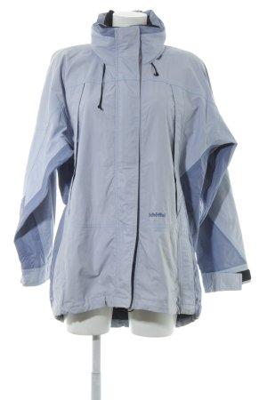 Schöffel Outdoorjacke himmelblau-schwarz Casual-Look