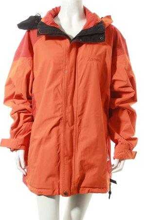 Schöffel Outdoorjacke orange-rot Casual-Look
