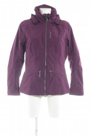 Schöffel Outdoor Jacket purple-black street-fashion look