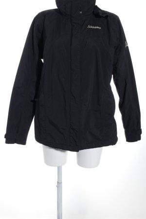 Schöffel Outdoorjacke schwarz sportlicher Stil