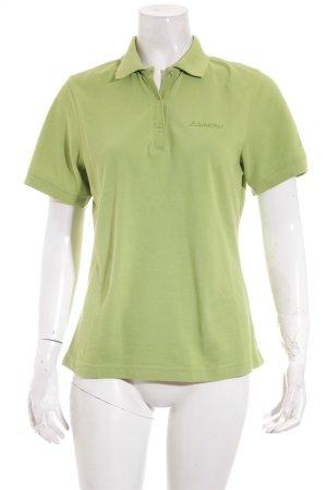 Schöffel Polo-Shirt hellgrün sportlicher Stil