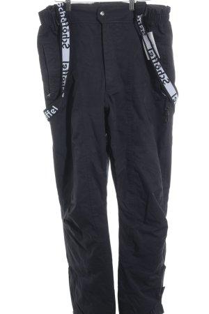 Schöffel Snow Pants black-white simple style