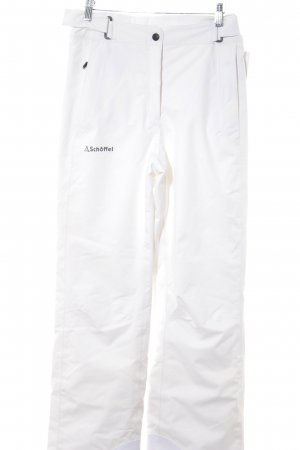 Schöffel Snow Pants white athletic style