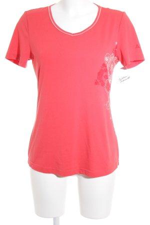 Schöffel T-Shirt hellrot Casual-Look