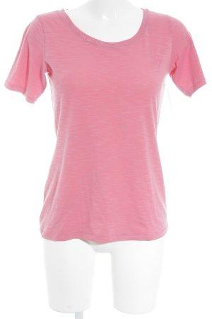 Schöffel T-Shirt rosa meliert sportlicher Stil